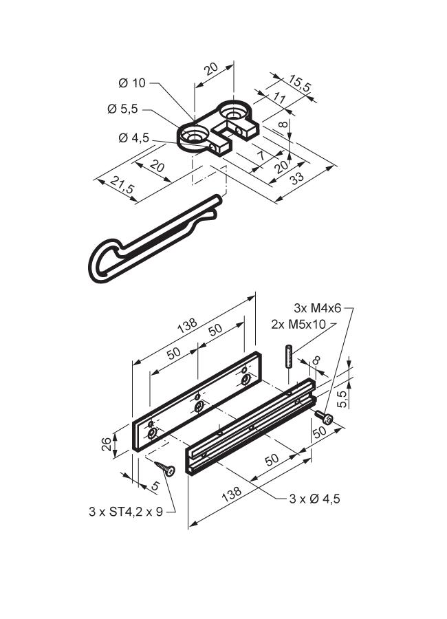 mingardi micro s msm slide  u0026 vent bracket